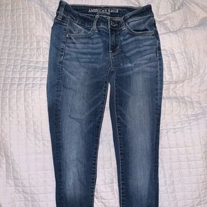 American Eagle Mid Rise Jeggings